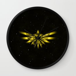 Zelda - Triforce Wall Clock