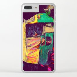 Delhi Street Clear iPhone Case