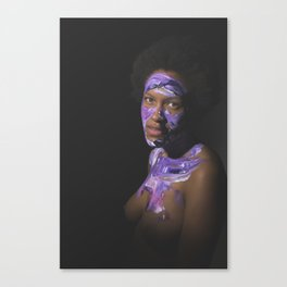 Colors of Women, T.B. Canvas Print