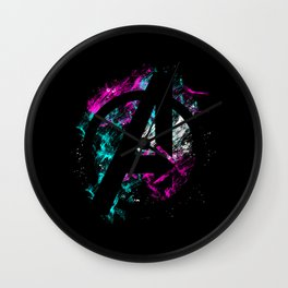 Time To Rewind Wall Clock