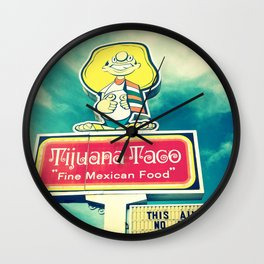 Not Taco Bell Wall Clock