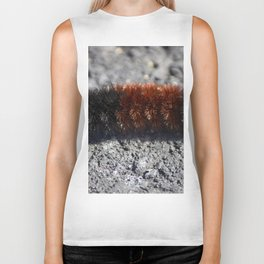 Banded Woolly Bear Caterpillar Biker Tank