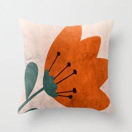 Ordinary Marsh Clamp Throw Pillow