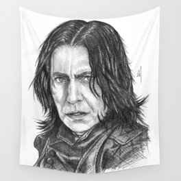 Snape Portrait Wall Tapestry