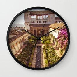 #laAlhambradeldia 114 Wall Clock