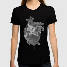 At Ease - Floral Heart T-shirt