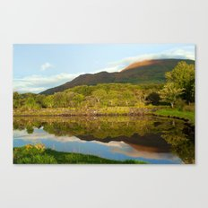 Reflections on Loch Etive Canvas Print