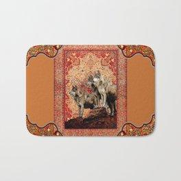 The Wolf Pack - Rudyard Kiplings Jungle Book Bath Mat