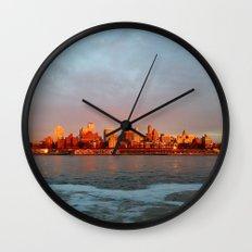 Brooklyn Heights Wall Clock