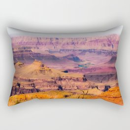 desert view at Grand Canyon national park, USA Rectangular Pillow