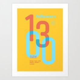 1300 Art Print
