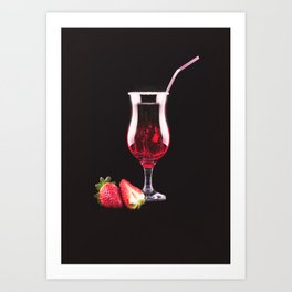 Cocktail Art Print
