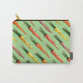 Happy colorful carrots pattern Carry-All Pouch