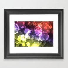 Dancing Ghosts Framed Art Print