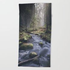 Silent whispers Beach Towel