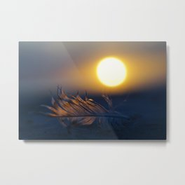 Romantic sunset Metal Print