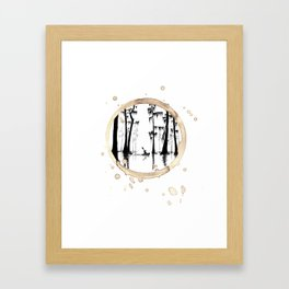 Coffee Stained On The Bayou-Louisiana Series Framed Art Print
