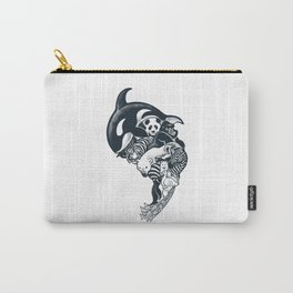 Monochromanimal Carry-All Pouch