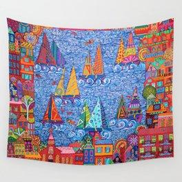 Regatta Town Wall Tapestry