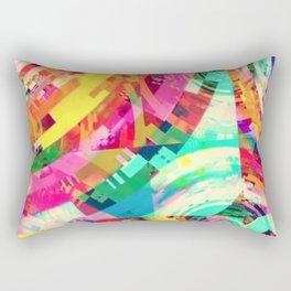 Playa del Carmen Sun, No. 2 Rectangular Pillow