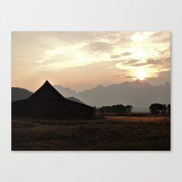 Spirit of the West Canvas Print