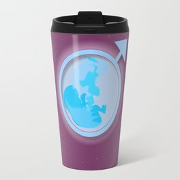 Expecting A Boy Travel Mug