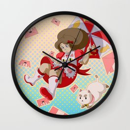 Bee and Puppycat Wall Clock