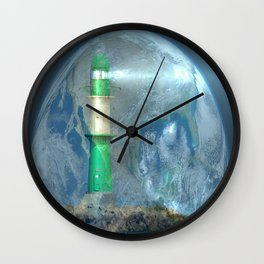 Peacekeepers Wall Clock