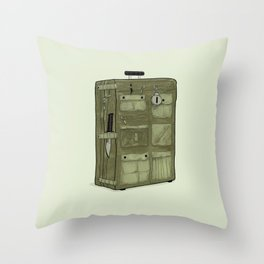 LOST Luggage / John Throw Pillow