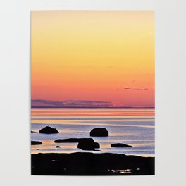 Yellow Skies of Summer Poster