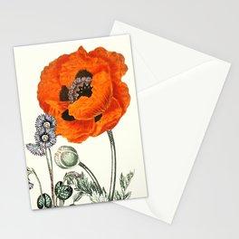 Poppy fantastic  Stationery Cards