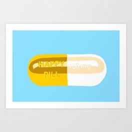 Happy Pill Kunstdrucke