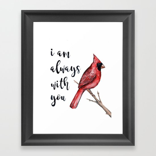 I Am Always With You, Cardinal by lindseythurberstudio
