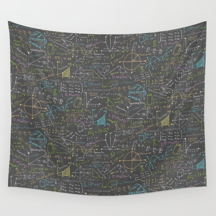 Wall Hanging Lesson Plan: Math Lesson Wall Tapestry By Robyriker