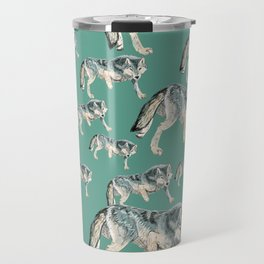 Totem Polar wolf Travel Mug
