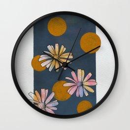 California Blooms 1 Wall Clock