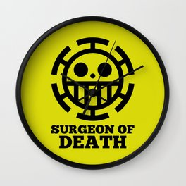 Surgeon Of Death Wall Clock