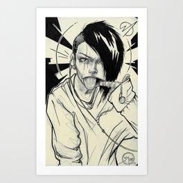 005 CJ Art Print