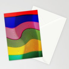 Franjas y rayas Stationery Cards