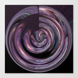 Argumentative Azalea Meets A Ripple In Time v.4 Canvas Print