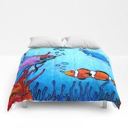 Ocean deep Comforters