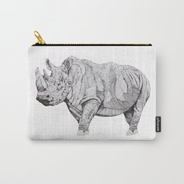 Northern White Rhino Carry-All Pouch