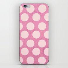 Pink Dots iPhone & iPod Skin