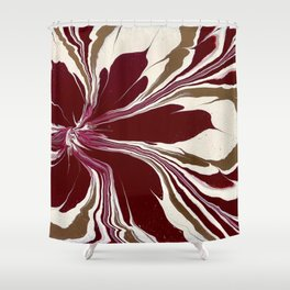 Mother's Flower Shower Curtain