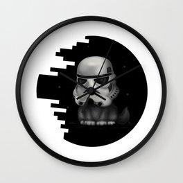 Kitteh Star Trooper Wall Clock