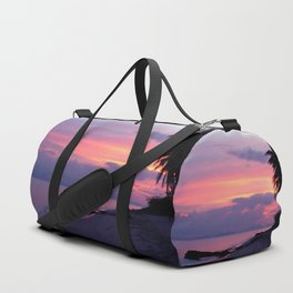 Island sunset Duffle Bag