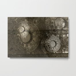 Too Much Time Metal Print
