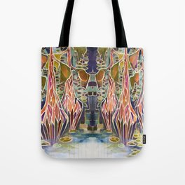 Unequal Light in the Bayou Tote Bag