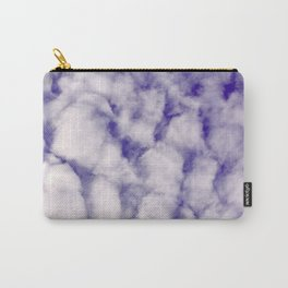 FLUFFY CLOUDS - BLUE SKY Carry-All Pouch