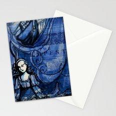 The Tempest - Miranda - Shakespeare Folio Illustration Stationery Cards